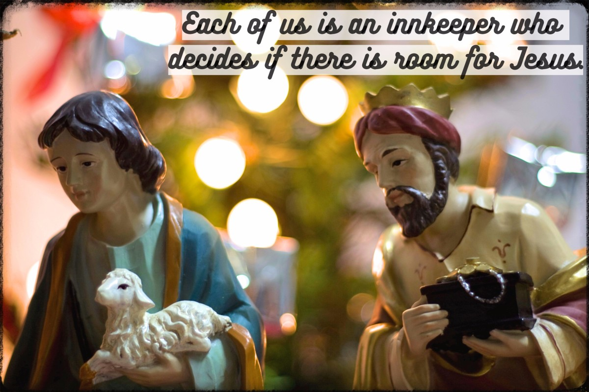 """Each of us is an innkeeper who decides if there is room for Jesus."" - Neal A. Maxwell, American religious leader"