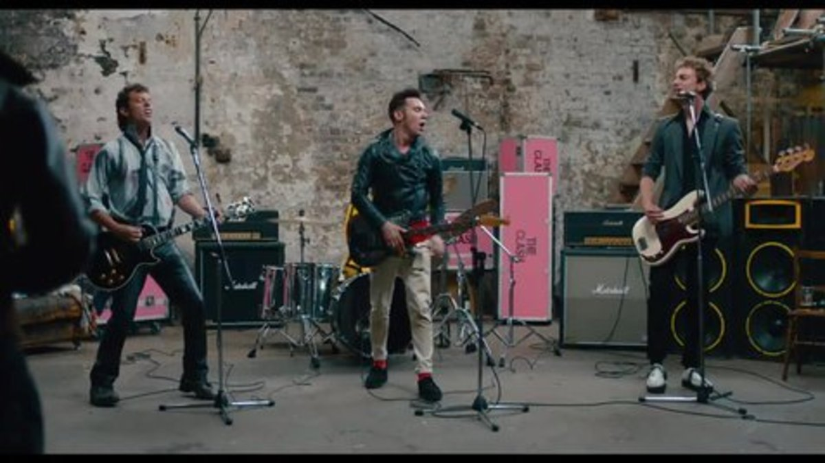 In 2016, the film, London Town was released. The gist of this movie follows a young Londoner, (Joe Strummer of Clash fame) as he acquires he musical roots and joins a punk-rock band.