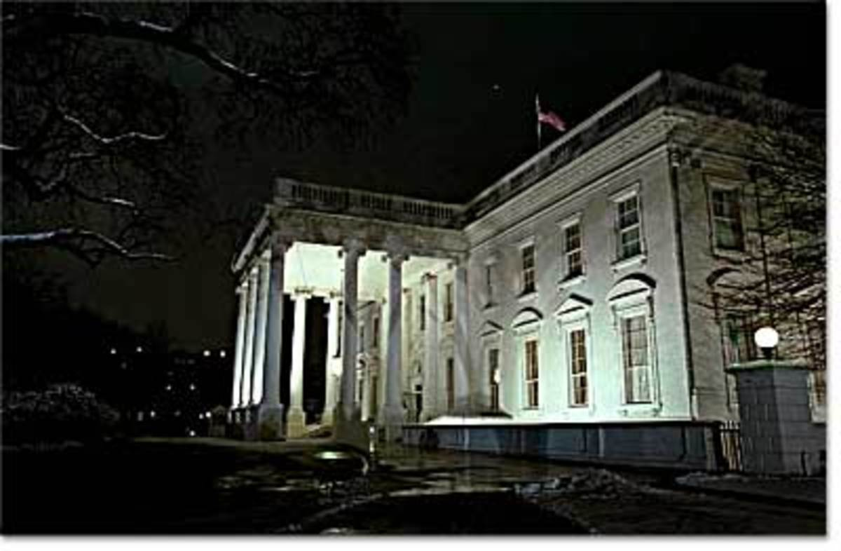 Many old mansions are believed to harbor ghosts and a good, ghost story, even the White House, where apparitions of Andrew Jackson and Abraham Lincoln may occasionally appear..