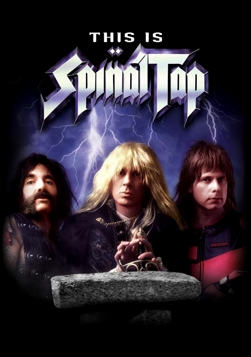 This Is Spinal Tap (1984) poster.