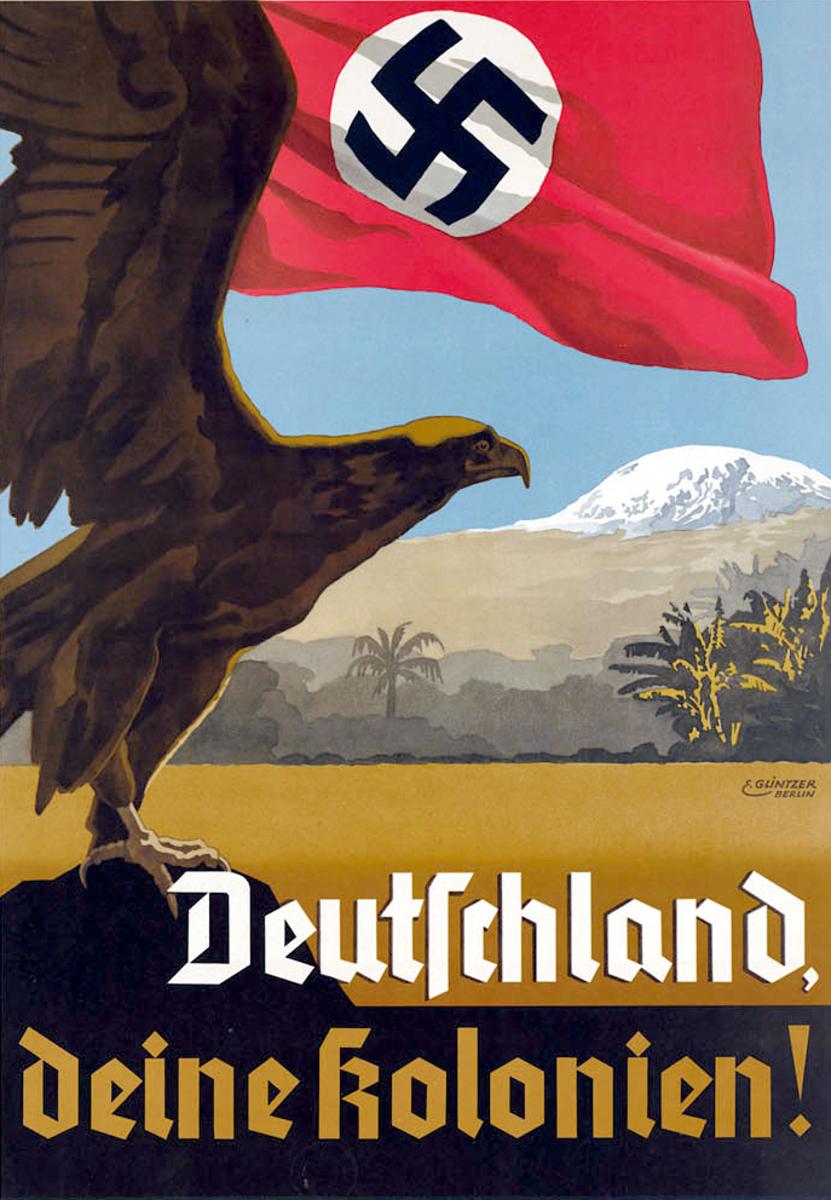 German Nazi poster circa 1939-1945.