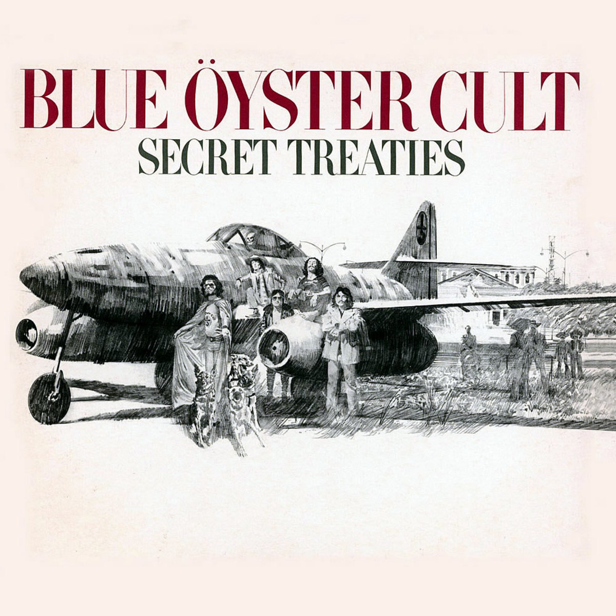 Secret Treaties (1974). Copyright of Columbia Records.