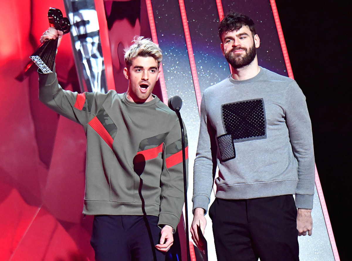#2 The Chainsmokers, $45.5 million