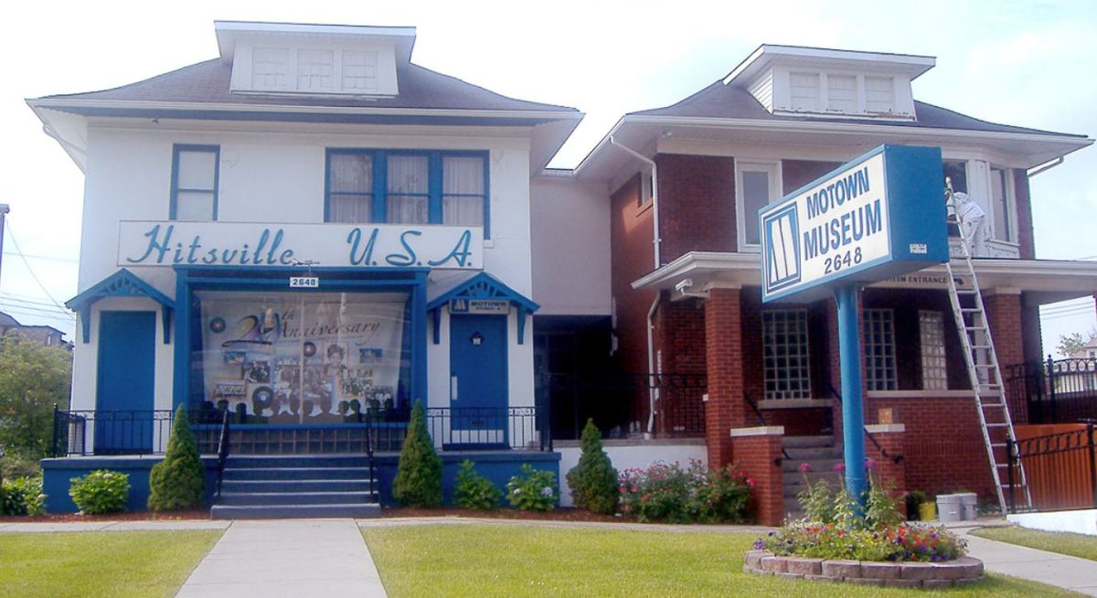 Hitsville USA, 2648 West Grand Boulevard, Detroit. It's now the Motown Museum