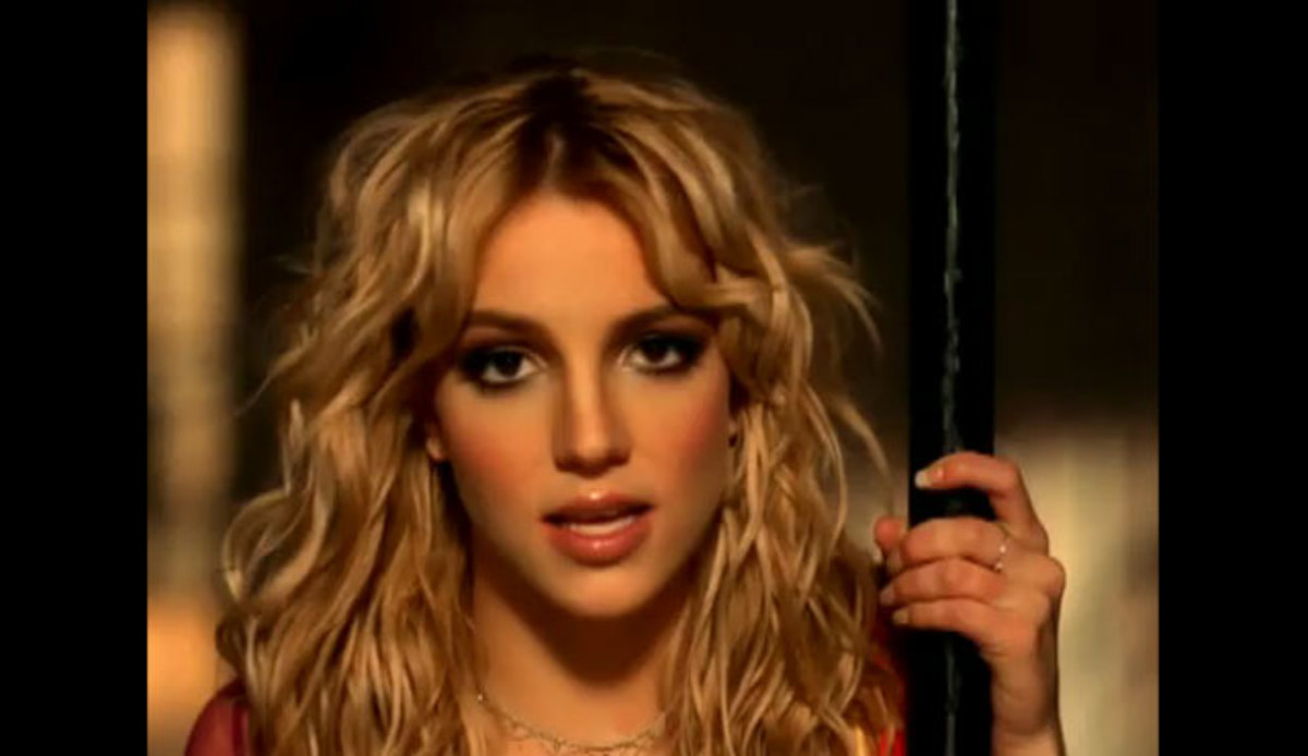 "Spears in the ""Overprotected"" video."