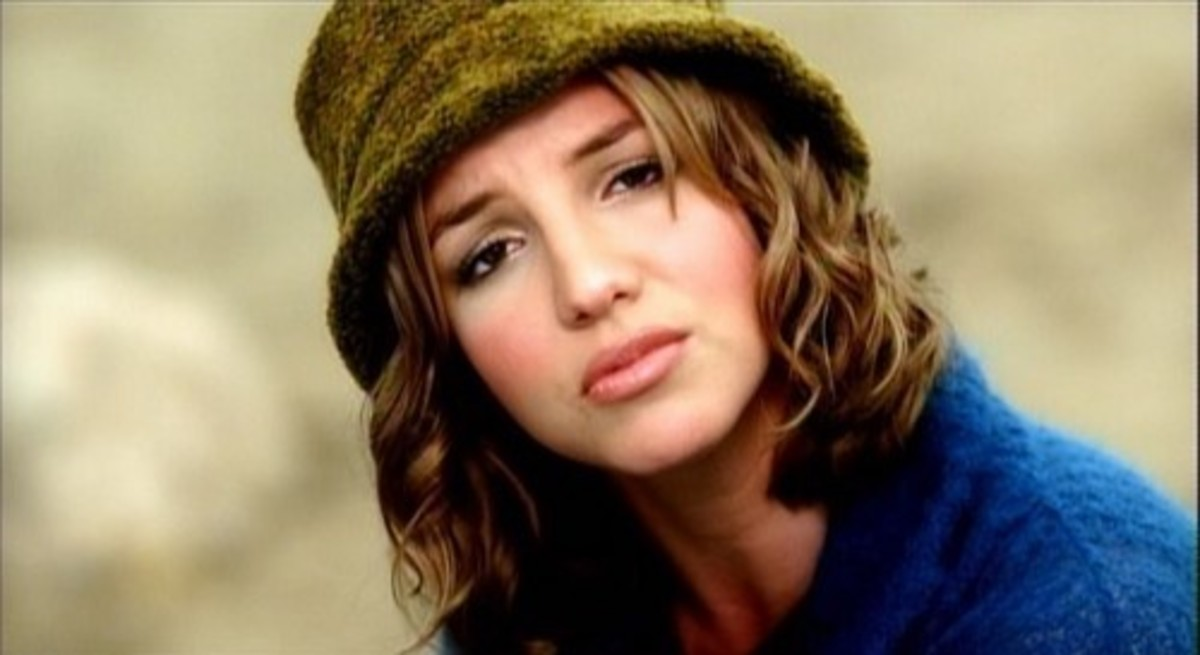 "Spears in ""From The Bottom Of My Broken Heart."""