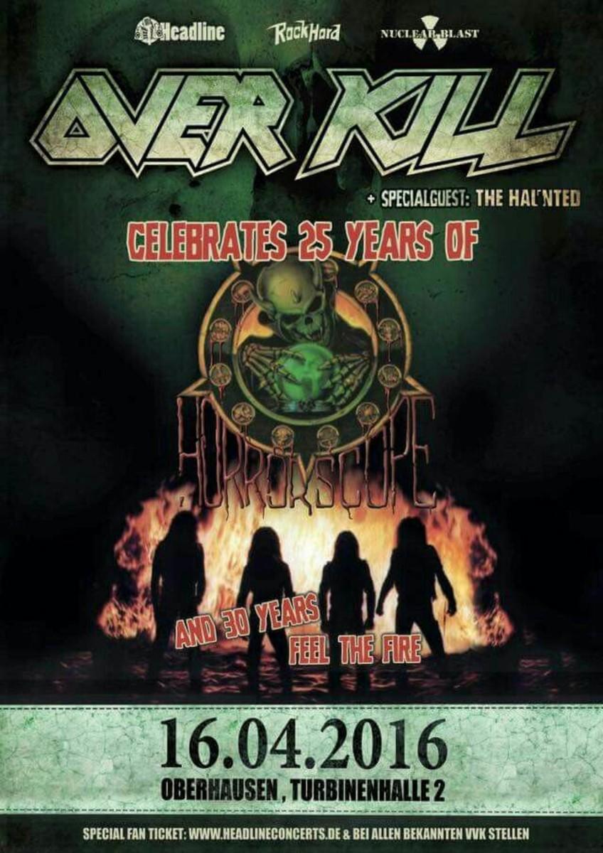 """""""Overhausen""""  concert poster"""