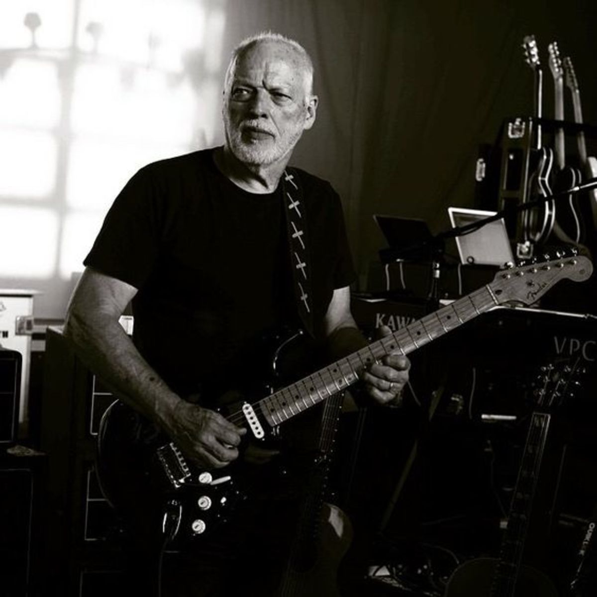 Gilmour and The Black Strat.