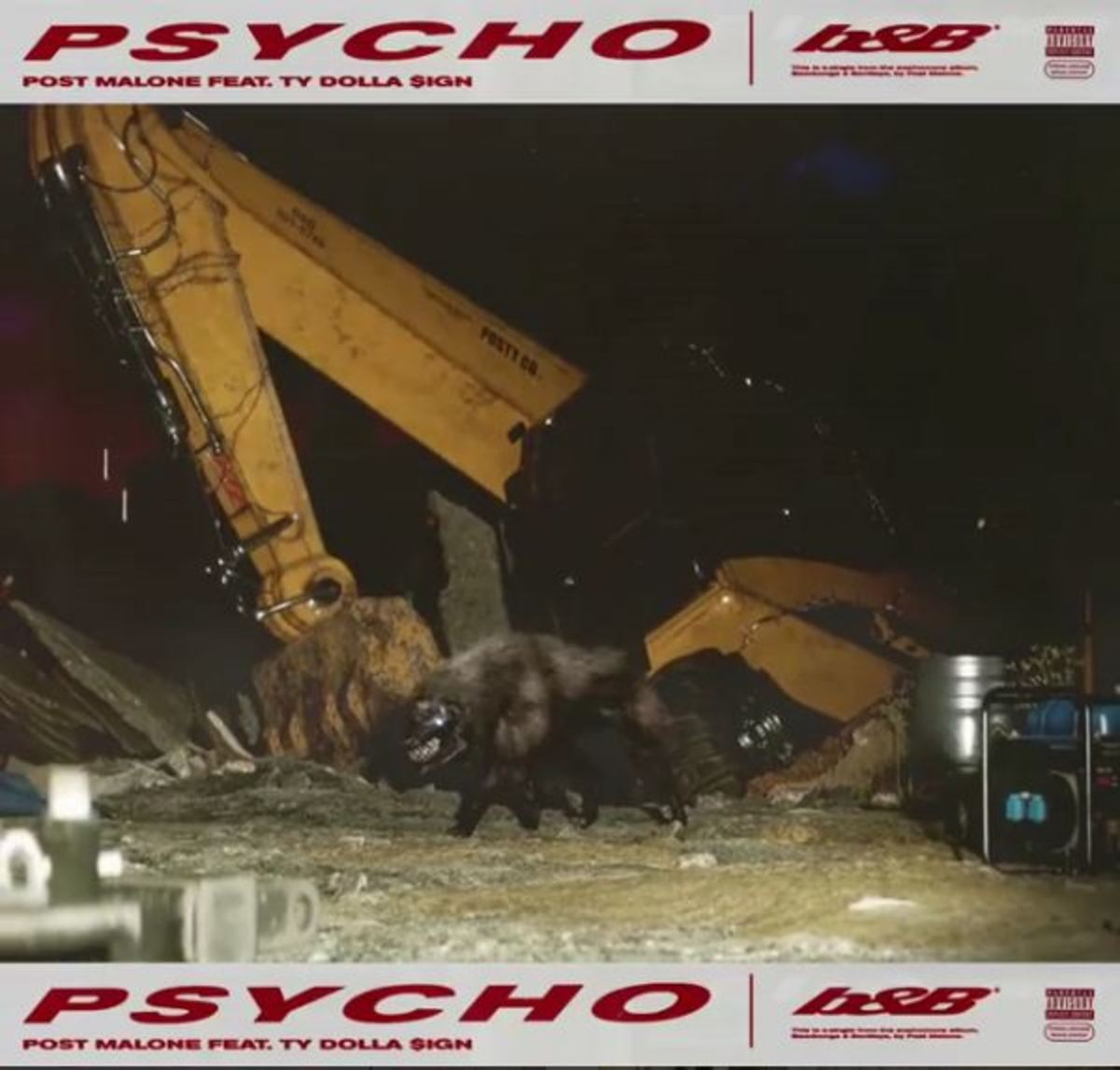 """Psycho"" by Post Malone ft. Ty Dolla $ign"