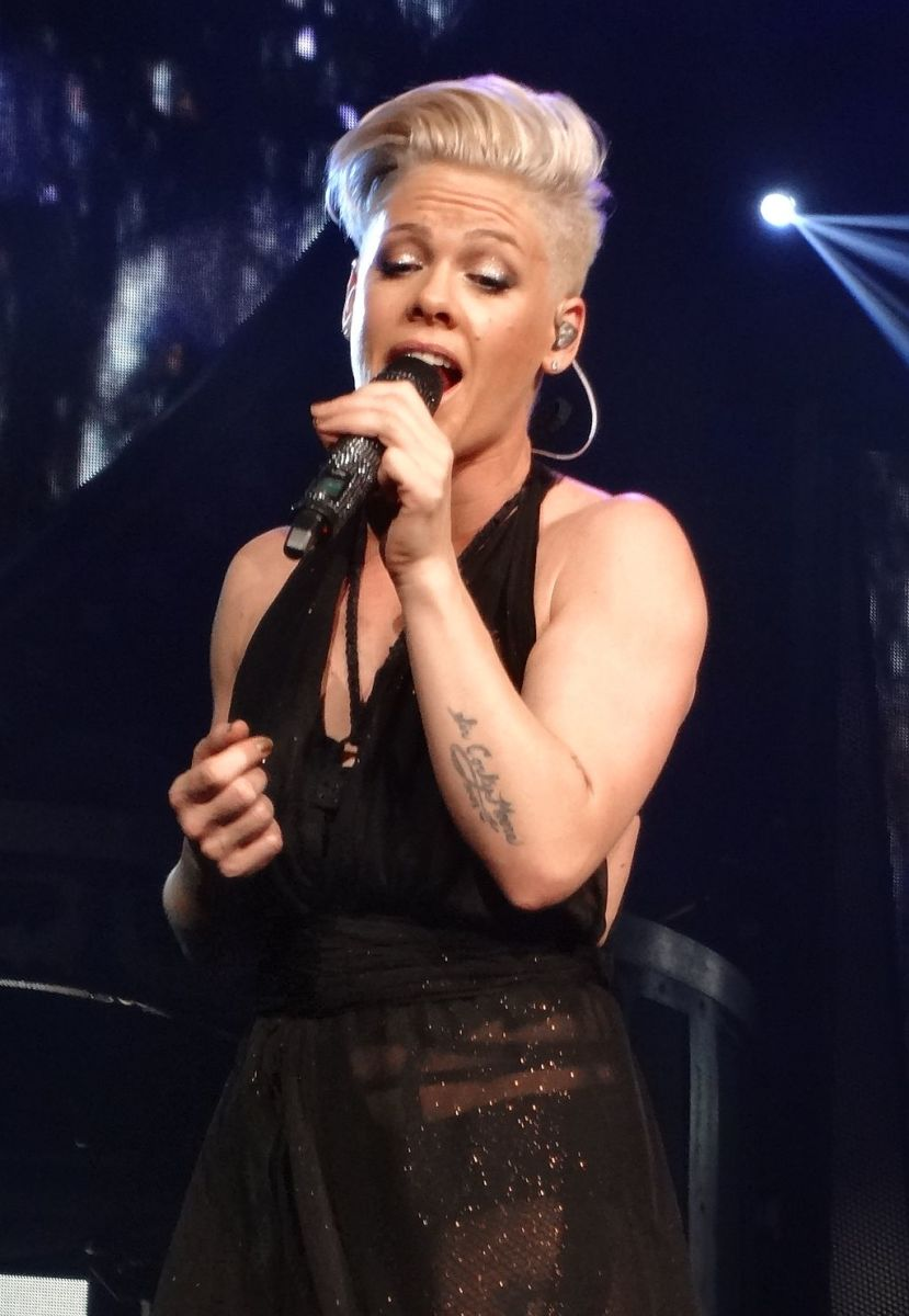 P!nk performing live, March 6th 2013.