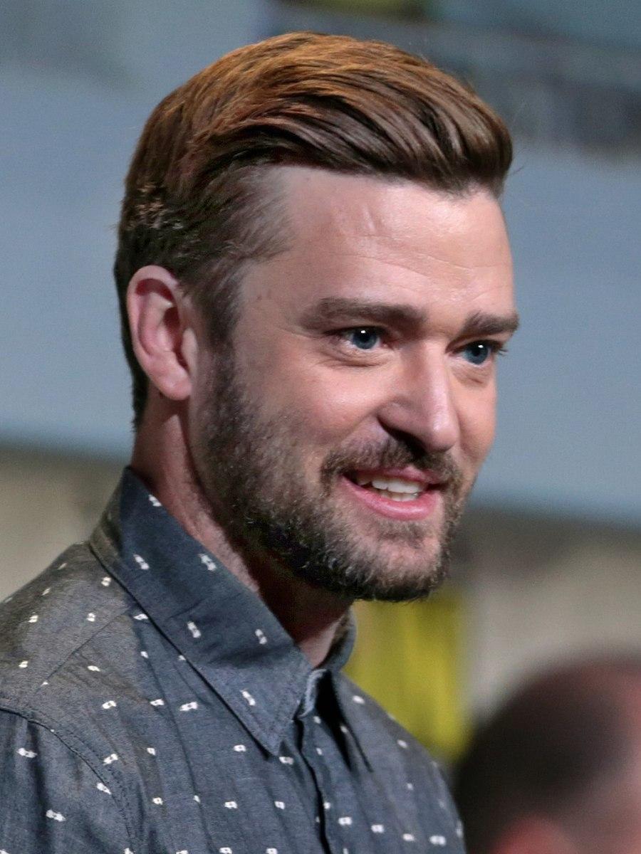 Justin Timberlake at the 2016 San Diego Comic-Con International in San Diego, California.