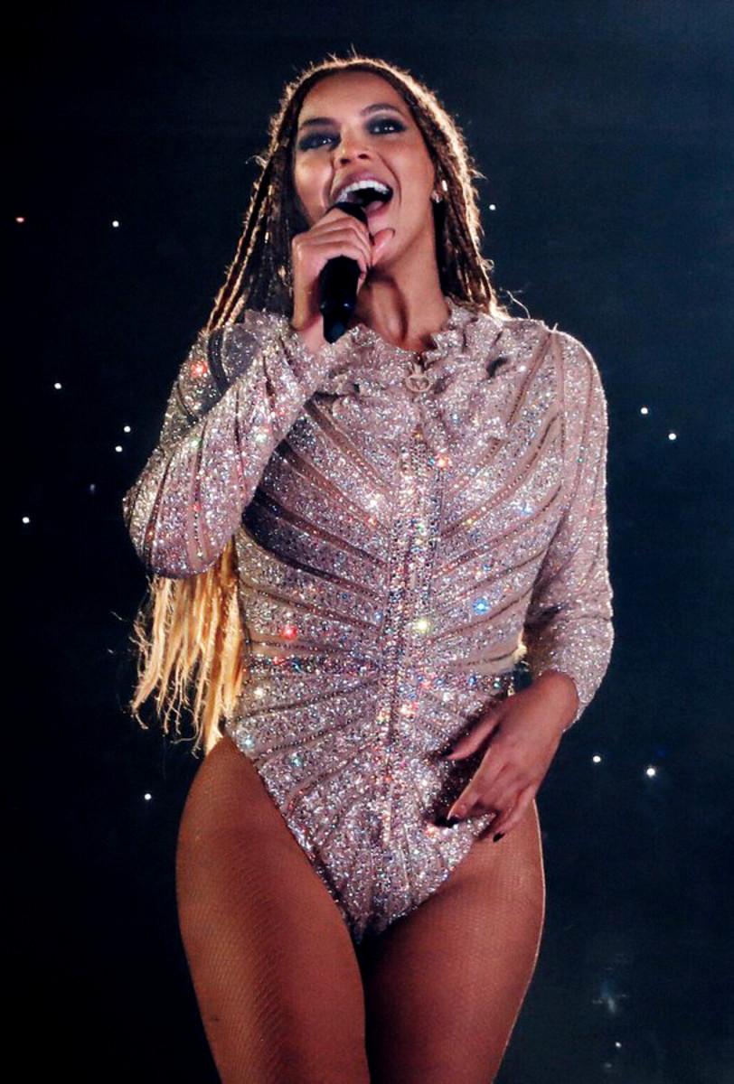 Picture of Beyoncé.