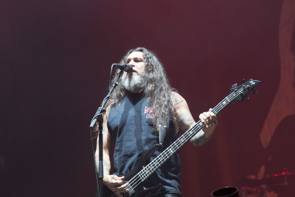 Tom Araya at Nova Rock 2014.