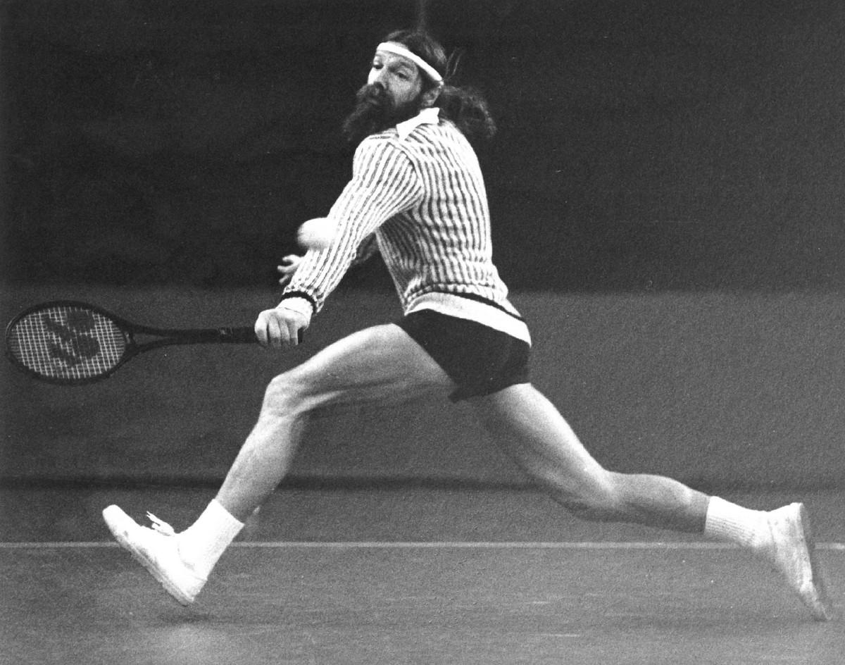 Lars' dad, tennis pro Torben Ulrich, in 1977.