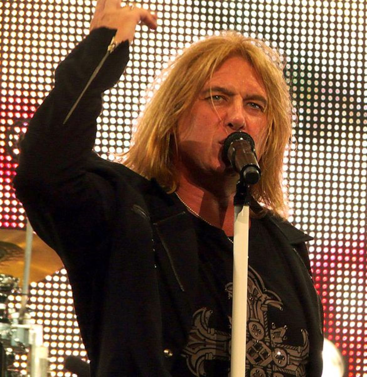 Whether a rock musician or a steelworker, Joe Elliott has always worked with heavy metal!