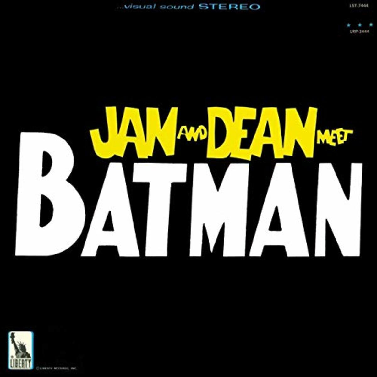The Batman album sans the caped crusaders