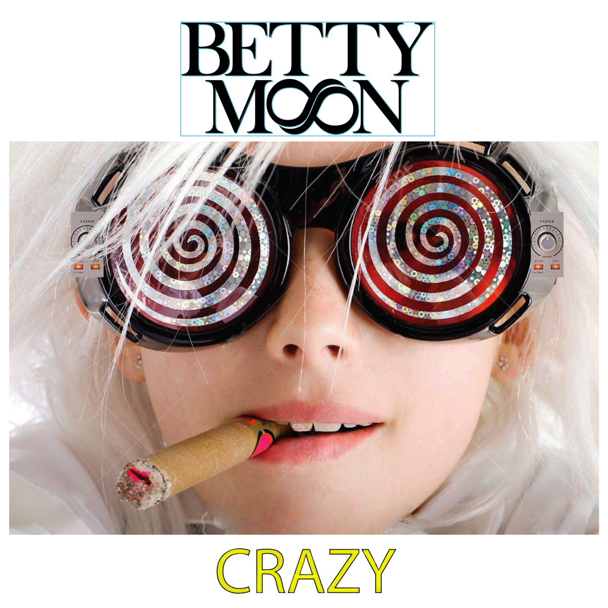 "Betty Moon's latest single ""Crazy"""