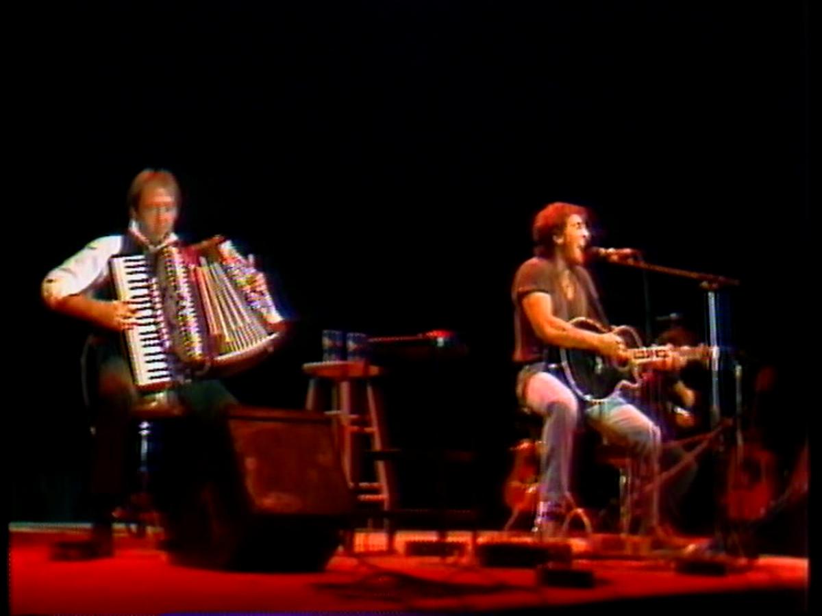Danny Federici and Bruce Springsteen-Bridge School Benefit concert