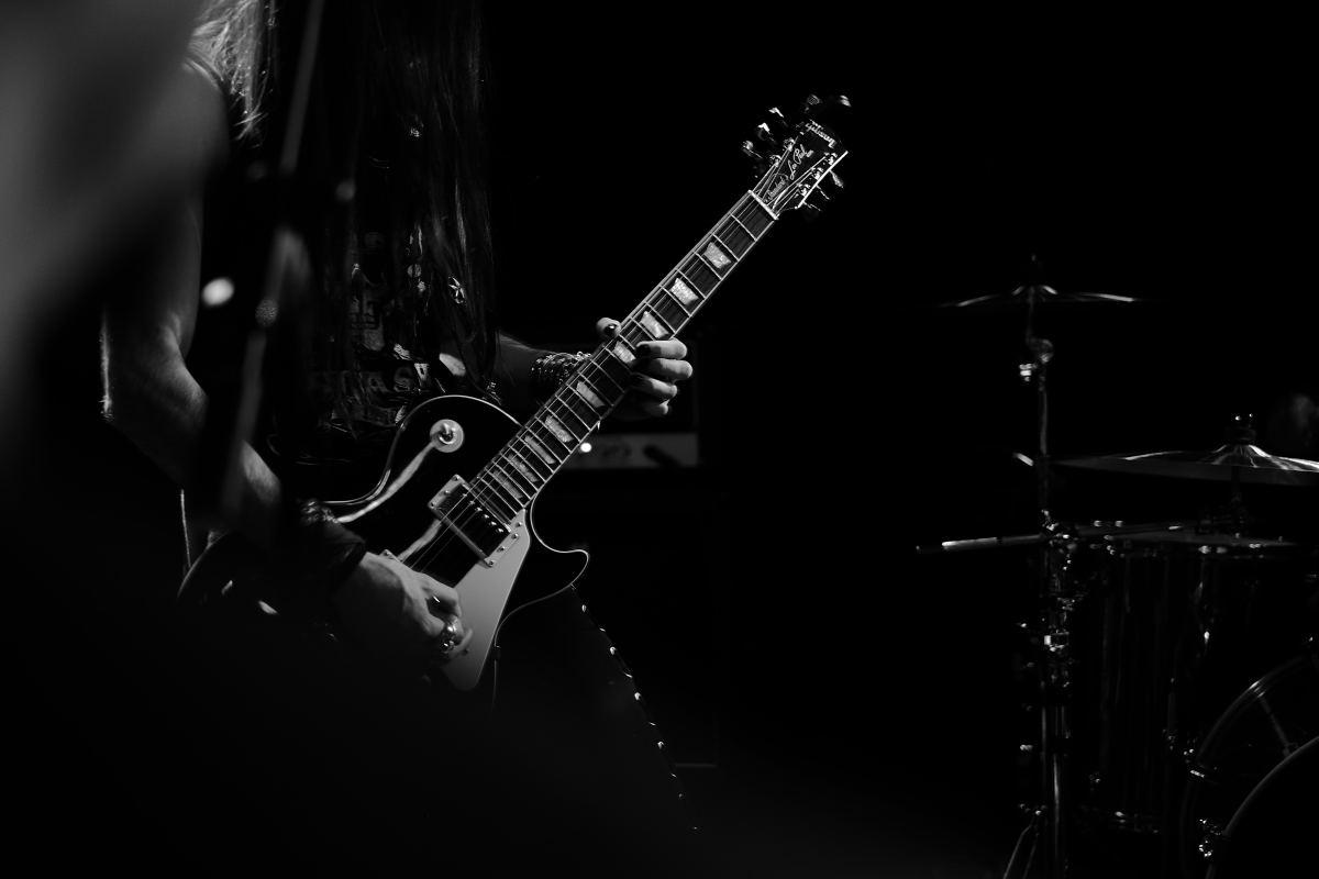 Гитара Les Paul - фаворит в альтернативном металле.
