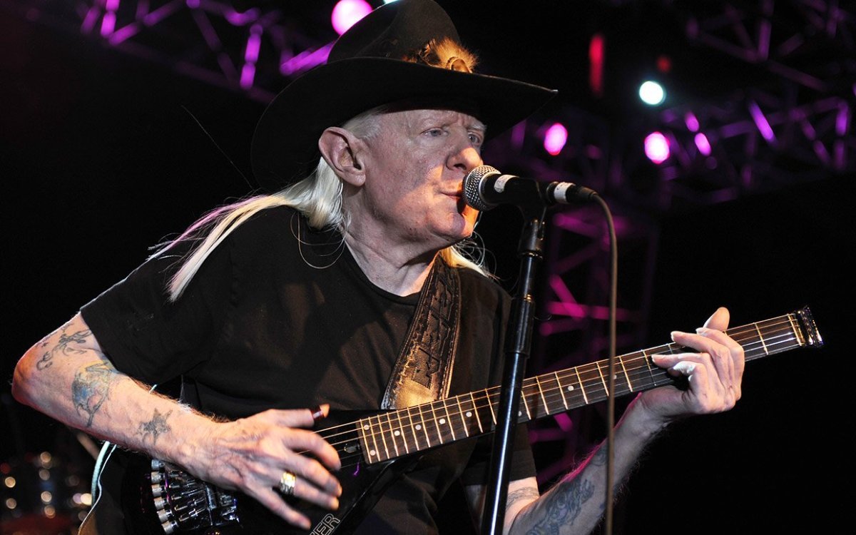Johnny Winter was seemingly born to be a blues guitarist.