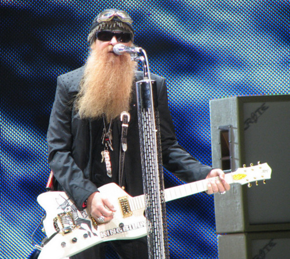 Billy Gibbons is instantly recognizable by sight and by the sound of his guitar playing.