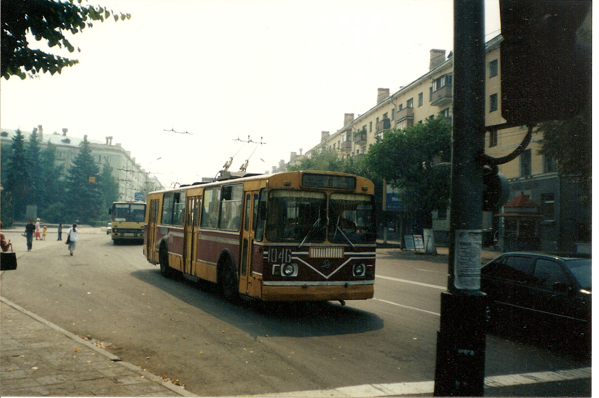 A trolly in Ryazan, Russia