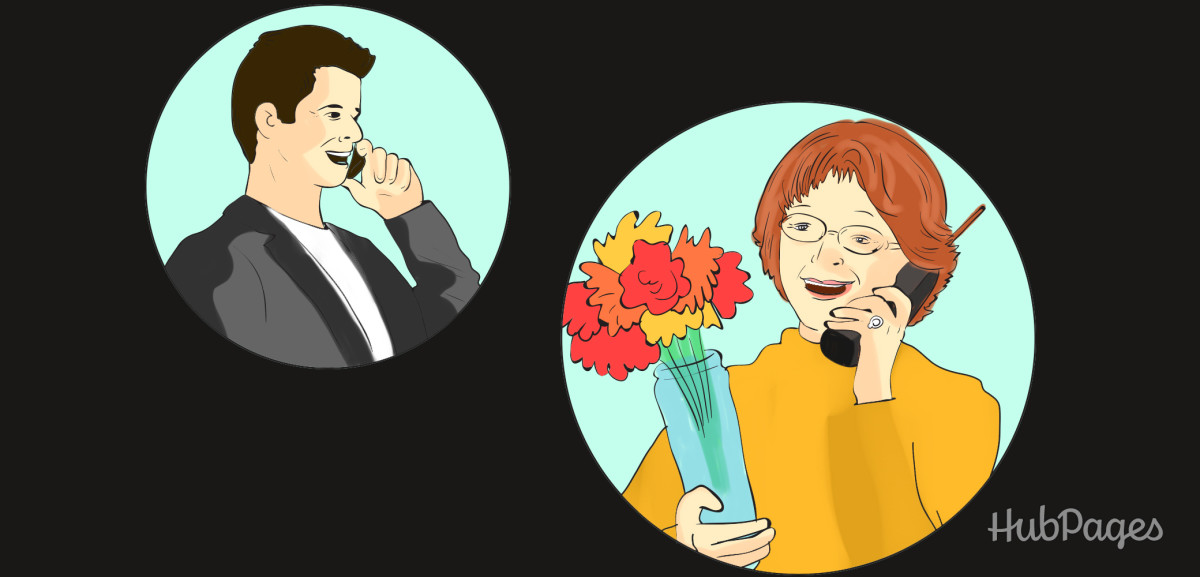 Buy a gift for your boyfriend to give to his mother—her happy phone call will make his heart melt.