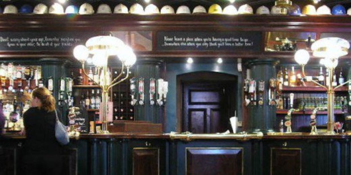 Go on a drinking adventure. Hit up all the pubs you've always been meaning to visit.