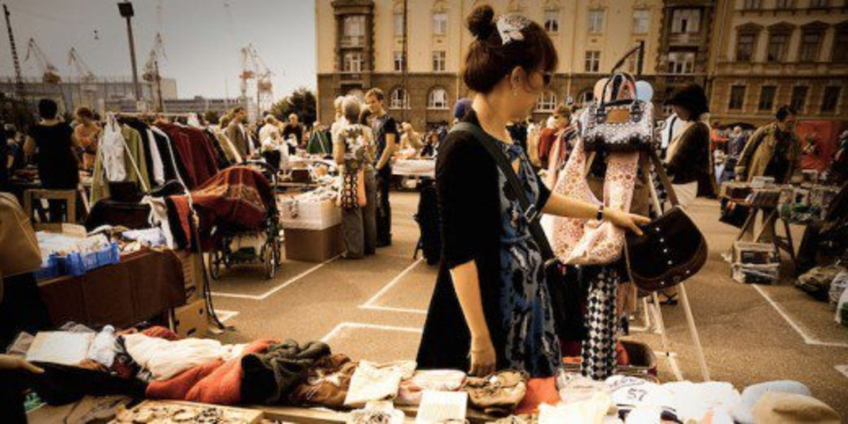 See what cool discoveries you can find at the flea market.