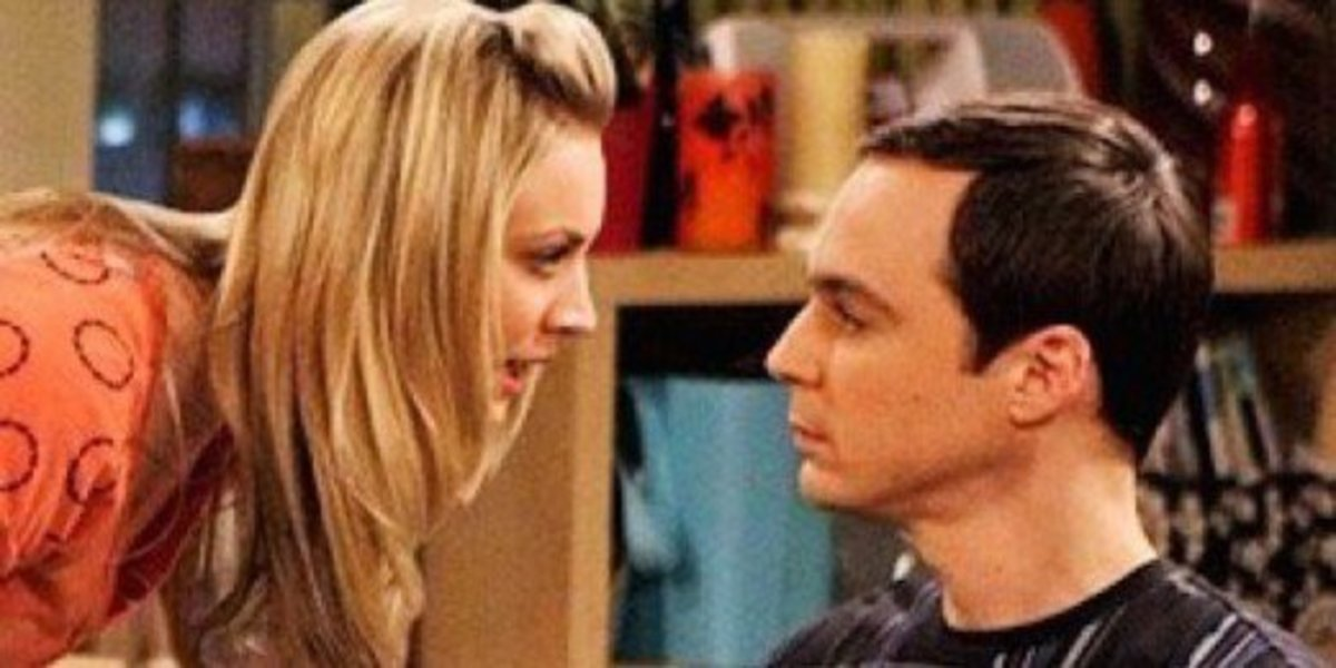 "Snuggle up on the couch and watch one of your girlfriend's favorite TV shows, whether it is ""The Big Bang Theory"" or ""Friends."""