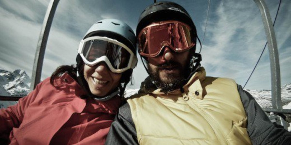 Go on a ski trip together. It's the perfect sport no matter your athletic ability.