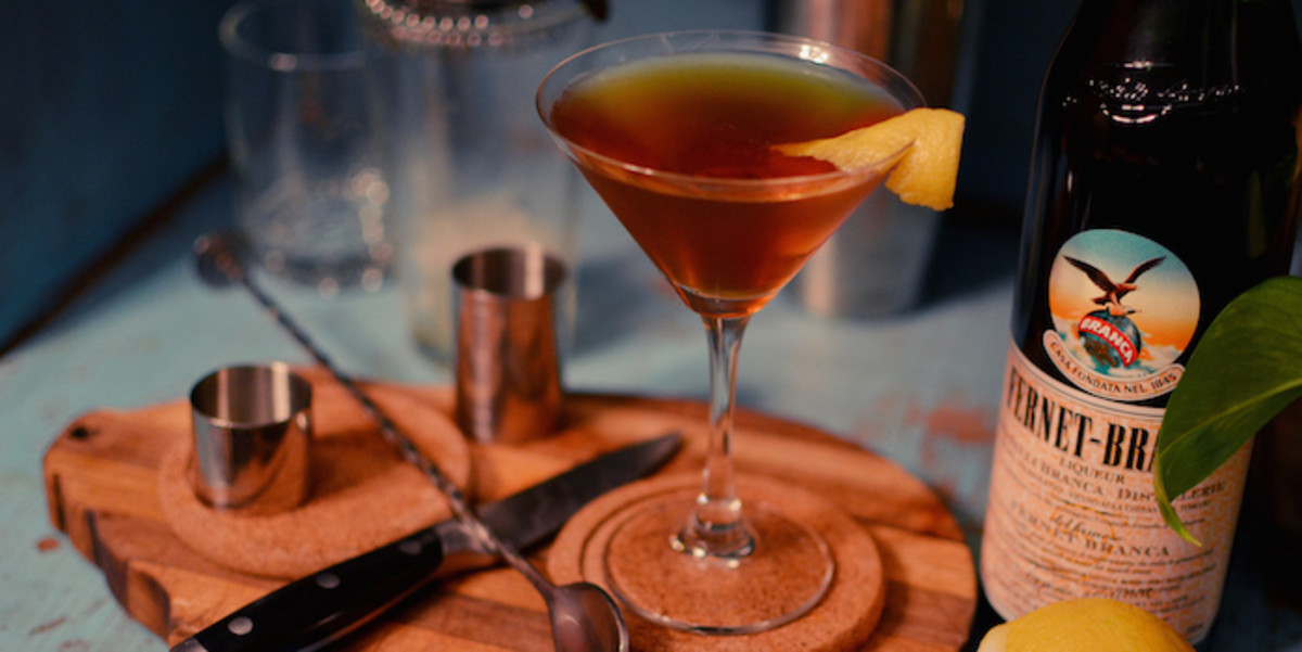 Make your girlfriend a signature cocktail that you invented just for her.