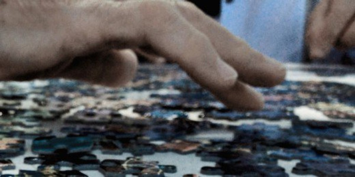 Set out to salve a thousand-piece puzzle together