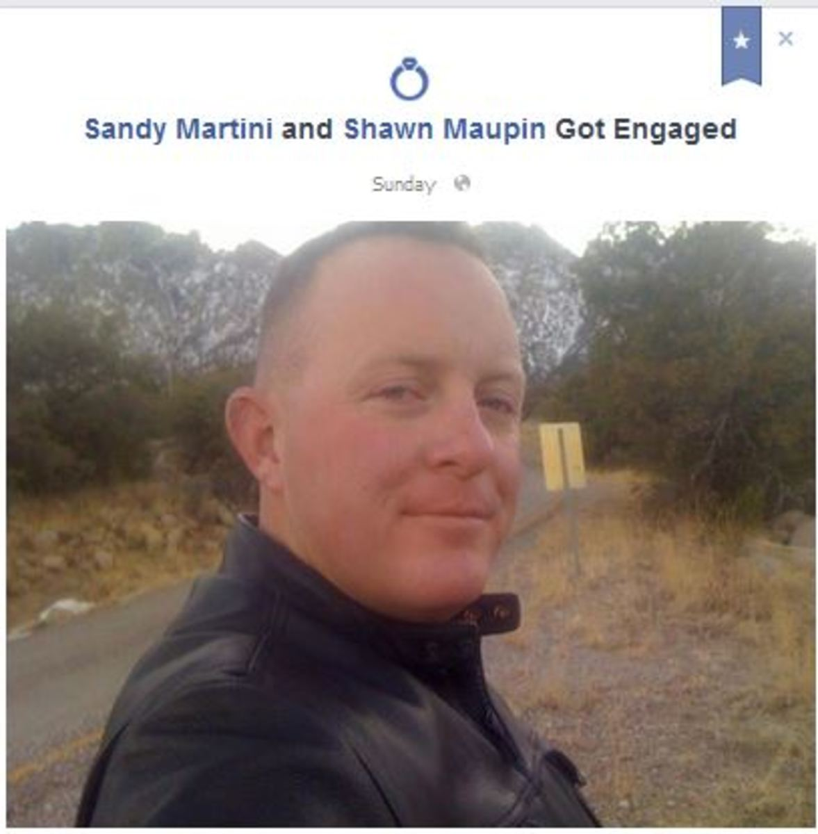 Real Facebook Engagement... fake Mr. Maupin
