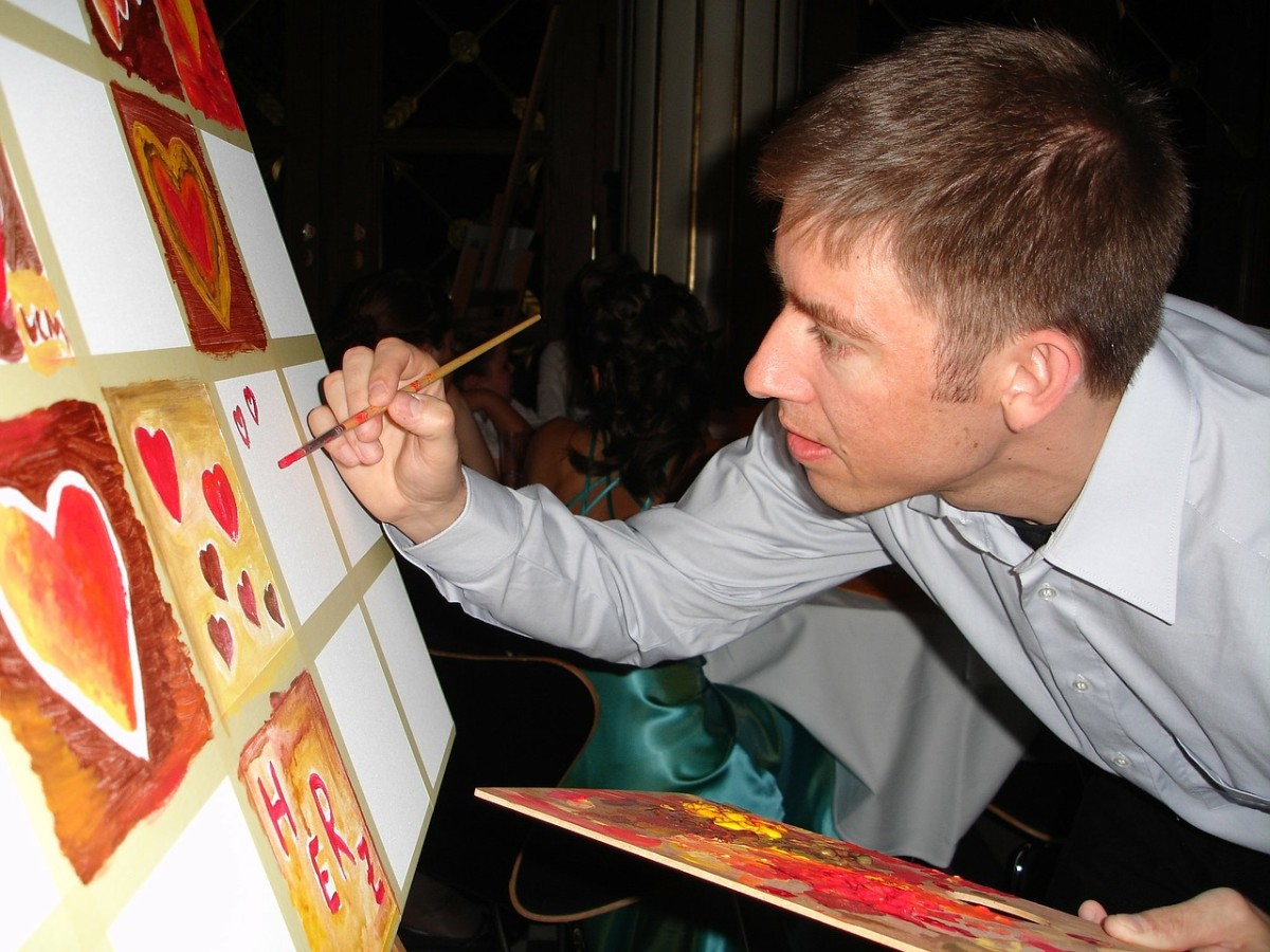 Taking a painting class with your partner may not necessarily be a cheap date idea, but it could be a lot of fun!