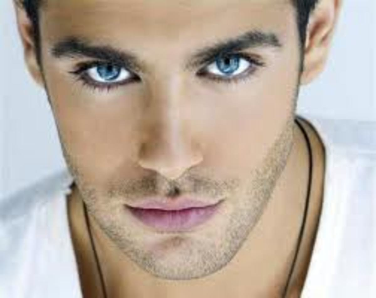 Love can be seen in his eyes