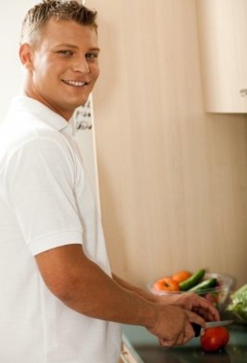 There is something special about guys who really enjoy cooking.