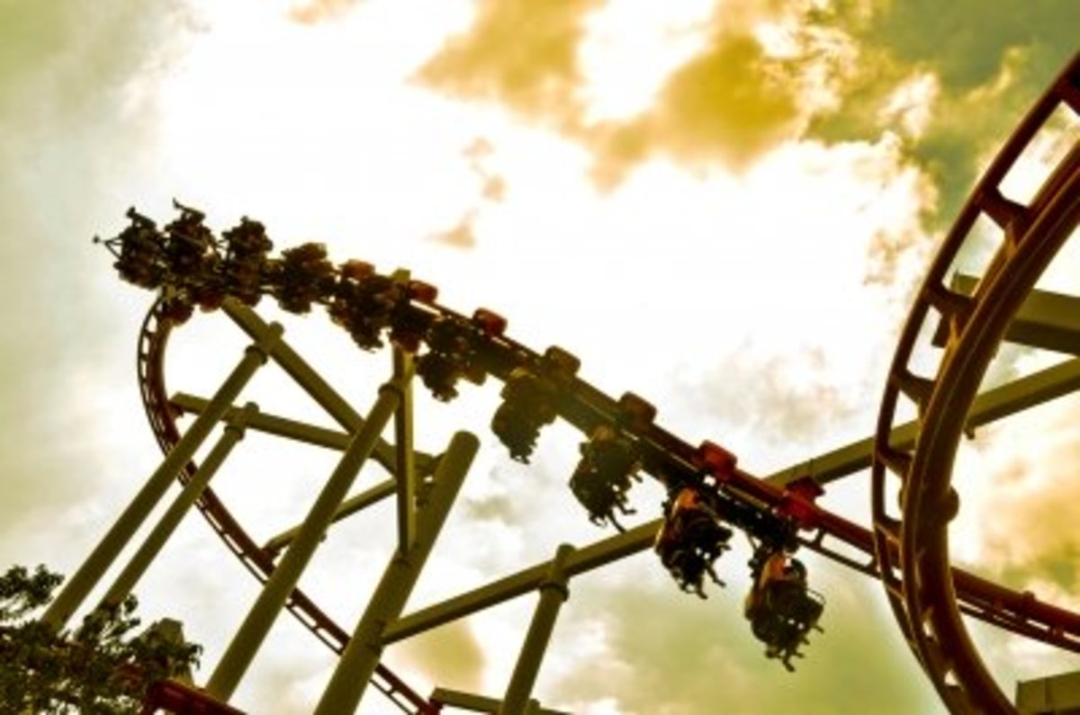when your marriage feels like a roller coaster ride