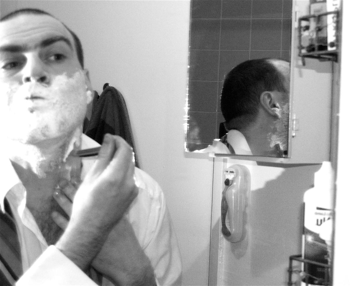 Soap is the main ingredient of shaving foams and gels.