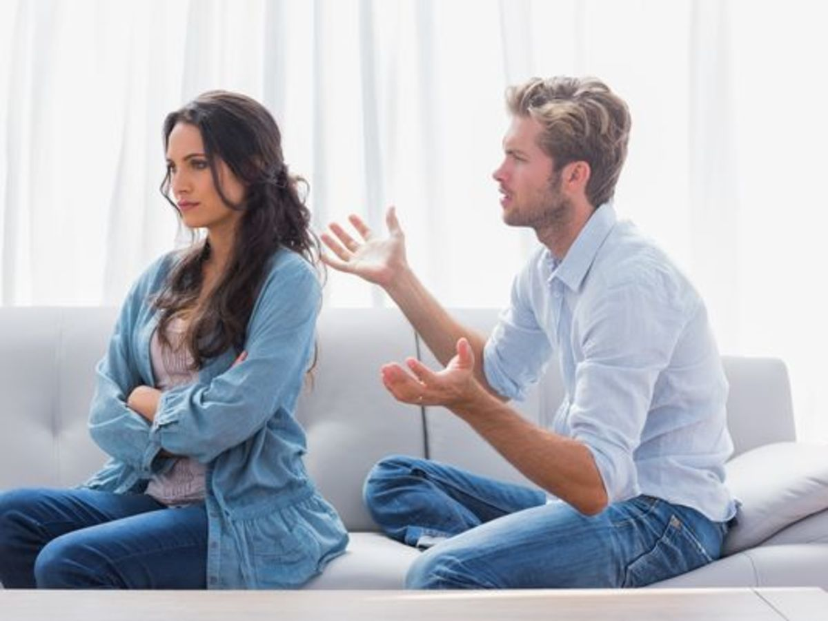 Are you getting nothing but cold or silent responses from your partner?  It may be time to test that gut feeling and ask your boyfriend or girlfriend what's going on.