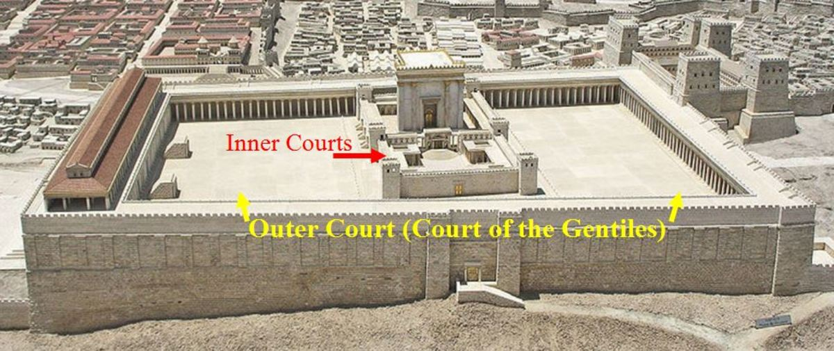 The Jerusalem Temple in the time of Jesus