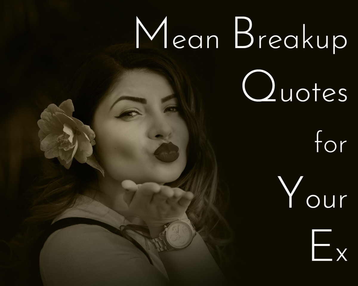 Mean breakup quotes