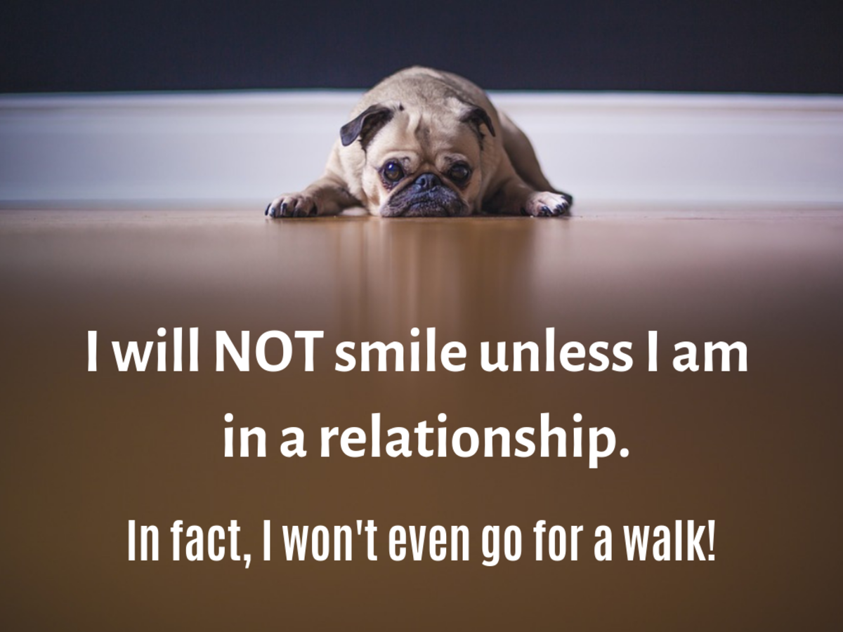 Many singles feel they can't be happy unless they're paired up.