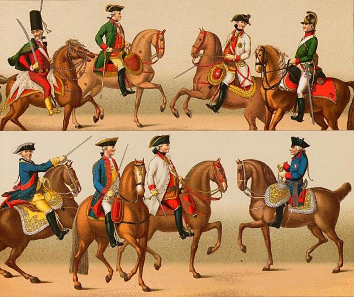 18th Century German Military Dress