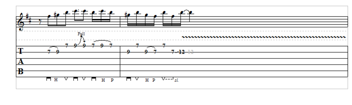 Some of Mike Bloomfield's licks