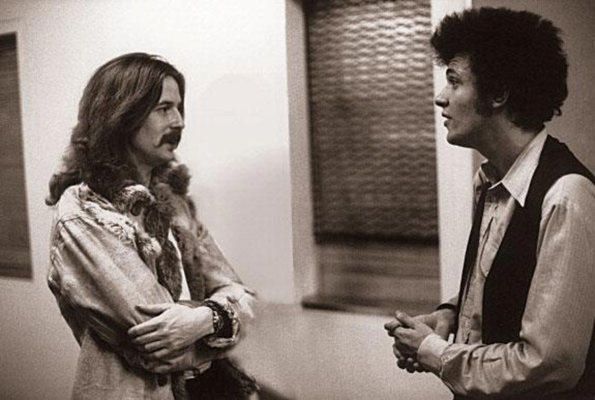 Eric Clapton and Bloomfield