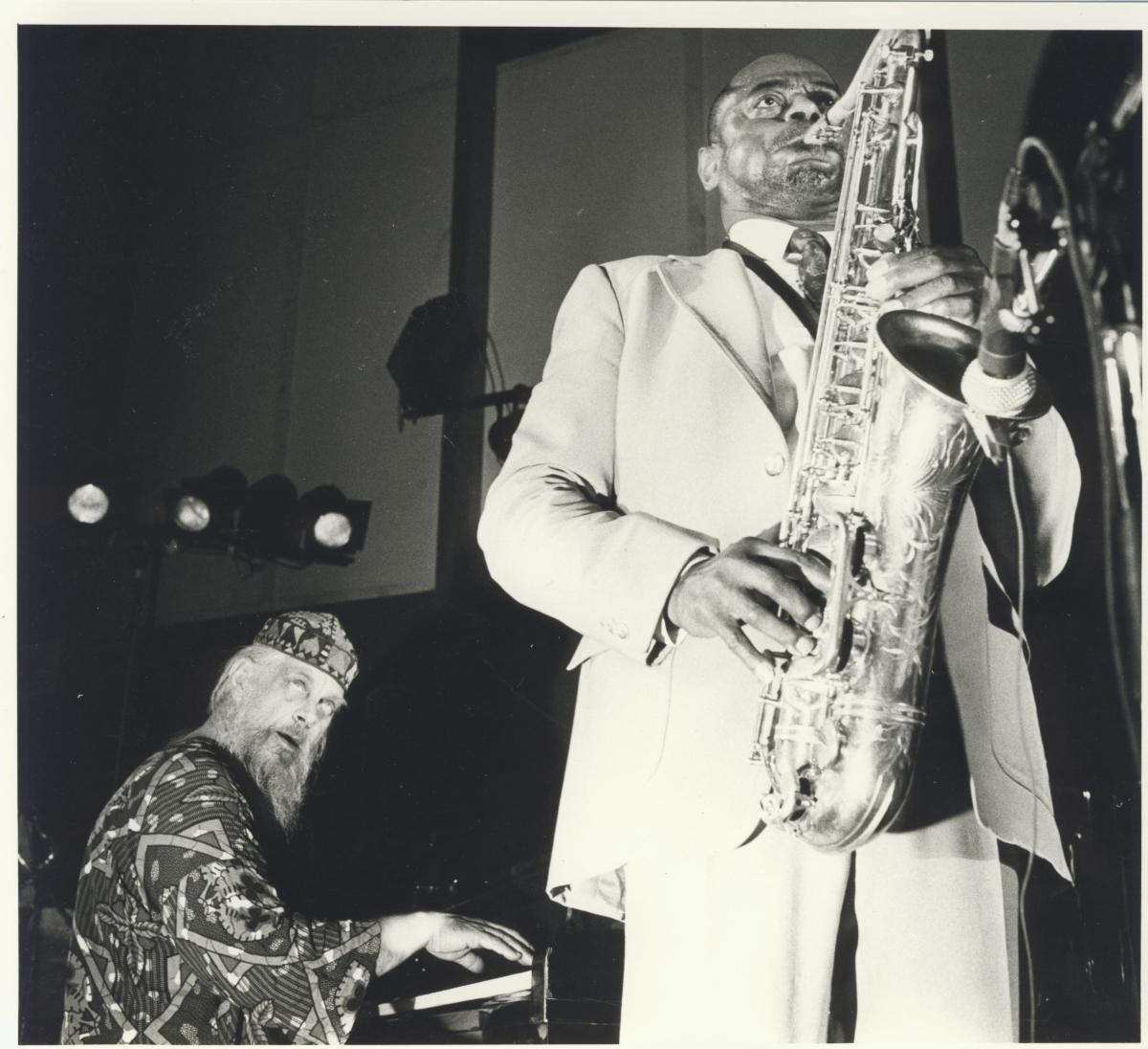 Chris McGregor with Archie Shepp, 1989