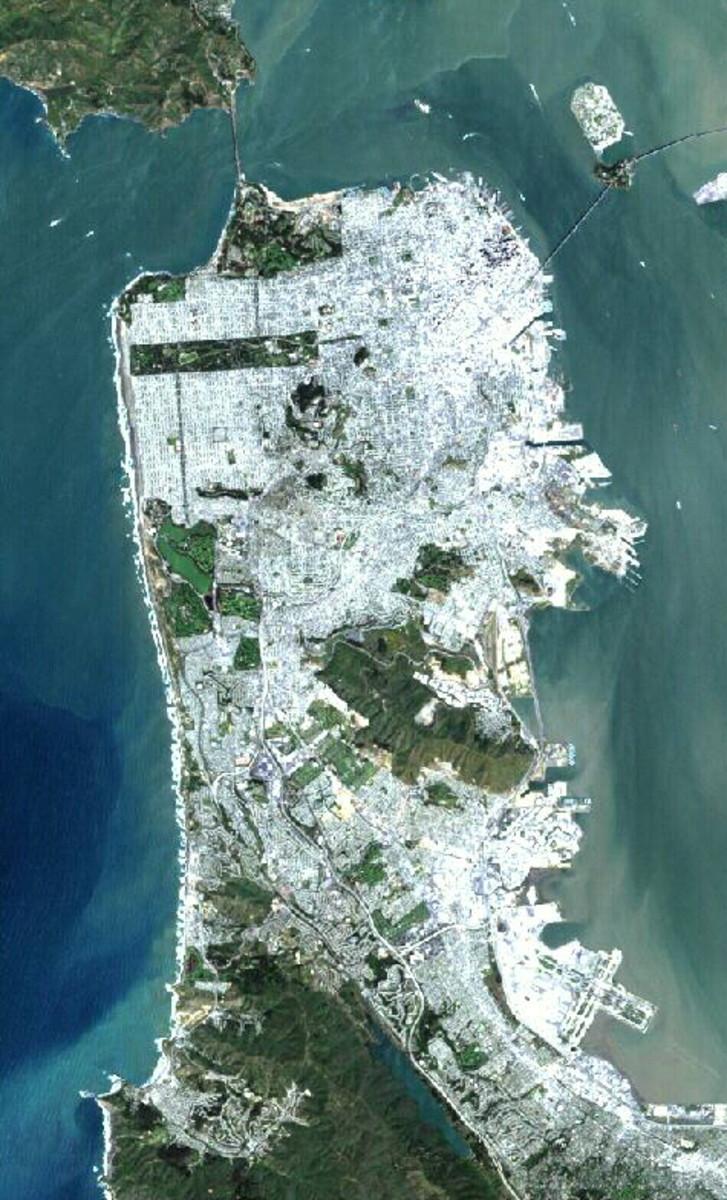 San Francisco / Public domain image from Wikimedia.
