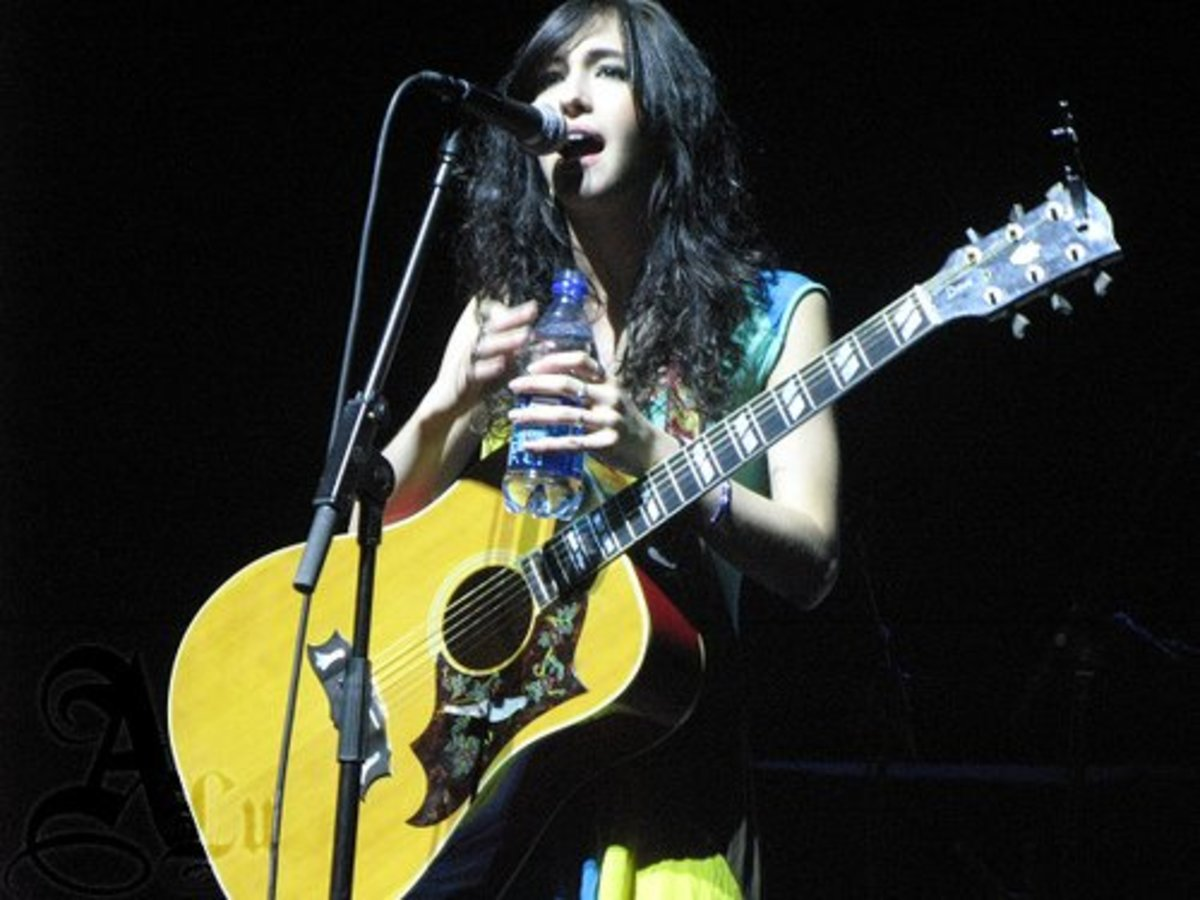 Kate Voegele in Florida 2008