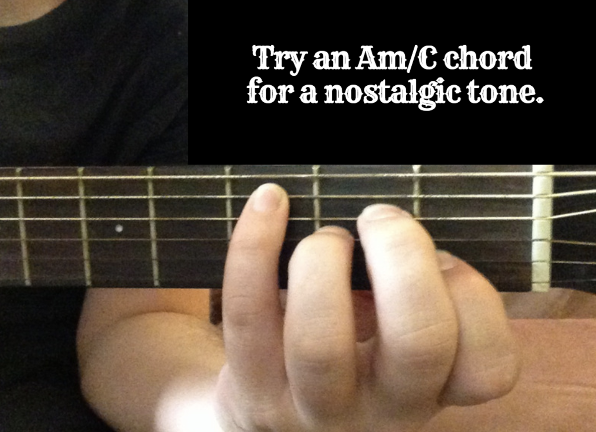 If you're looking to write a tear-jerker, then try using minor chords.